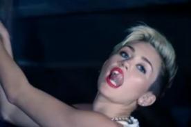 Video: Miley Cyrus muy provocativa para promoción de los MTV VMA 2013