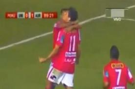 Universitario vs Juan Aurich: Video de gol de Roberto Ovelar - Descentralizado 2013