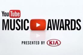 YouTube Music Awards: Videos de los nominados a Artista del Año