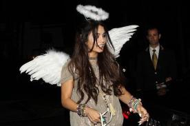 Vanessa Hudgens se adelanta a Halloween disfrazándose de ángel