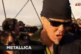 Concierto de Metallica en vivo desde la Antártida causa furor en Twitter