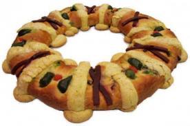 Receta para hacer una Rosca de Reyes - Ingredientes y Preparación