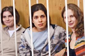Pussy Riot regresa con fuerza tras haber estado en prisión