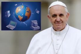 Papa Francisco:  El Internet 'es un regalo de Dios'