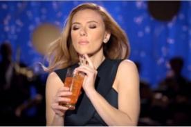 Scarlett Johansson renuncia a OXFAM