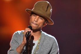 Pharrell Williams subasta sombrero que usó en los Grammy 2014 por eBay