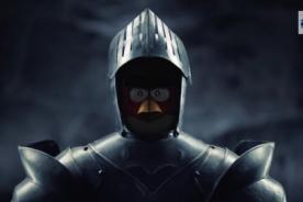 Caballeros y batallas medievales: Angry Bird anuncia nueva versión - VIDEO