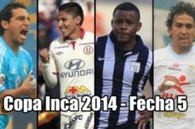 Torneo del Inca 2014: Resultados y partidos por la quinta fecha