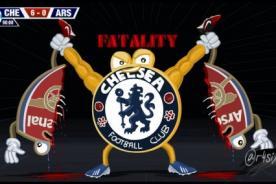 Premier League: Mira los memes que dejó el partido entre Chelsea 6-0 Arsenal - FOTOS