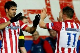 Atlético de Madrid venció 2-0 al Real Betis por la Liga BBVA - Video de Goles