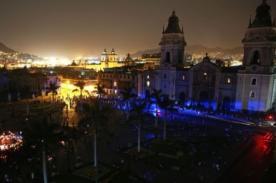 Hora del Planeta: Lima se sumó a la campaña y quedó a oscuras - Foto