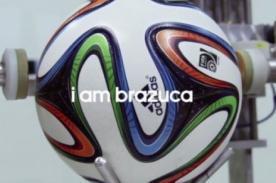 Brasil2014: Adidas coloca cámaras HD dentro de Brazuca, balón  del Mundial -VIDEO