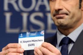 Champions League: Mira la cara de Figo tras emparejar a Madrid y Bayern - FOTO