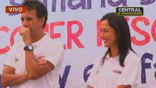 Alcalde de Ate Vitarte llama por error 'presidenta' a Nadine Heredia - VIDEO