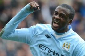 Manchester City: Yaya Touré anotó impresionante gol - VIDEO