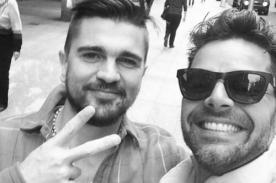 Ricky Martin se encontró con Juanes días antes de los Billboard 2014