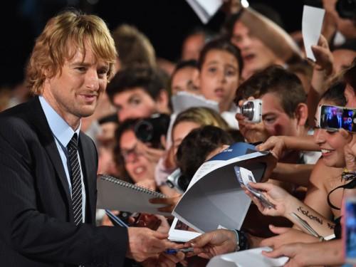 Owen Wilson fue el más aclamado en Festival de Cine en Venecia
