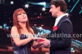 Magaly Medina coqueteó con Antonio Pavón [VIDEO]