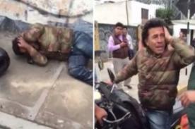 San Isidro: Policías agreden brutalmente a motociclista - VIDEO