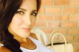 ¿Rosángela Espinoza envía foto en lencería a Carloncho?