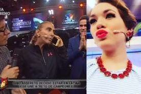 Jazmín Pinedo pasó tremendo roche en vivo por Natalia Málaga - VIDEO