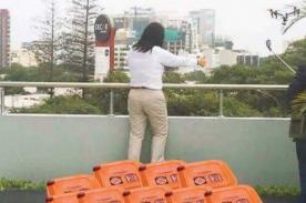 Keiko Fujimori tiene escandalosa reacción tras resultado de la ONPE - FOTOS