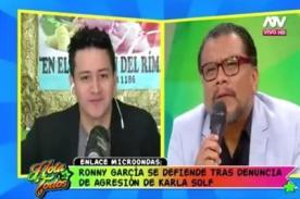 Ronny García sería homosexual y por eso le pega a las mujeres según este terapeuta
