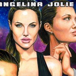 Angelina Jolie es inmortalizada en nuevo Comic