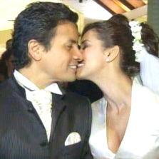Maricielo Effio se casó con el coreógrafo Ernesto Pacheco Samanez por vía religiosa