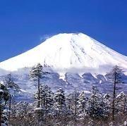 Doodle Navideño: Monte Fuji