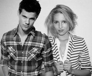 Taylor Lautner cenó con Dianna Agron en California