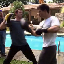 Taylor Lautner: Nuevo avance de Abduction muestra cómo entrenó el actor