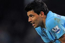 Fútbol Inglés: Sergio Aguero fuera del Manchester City por lesión