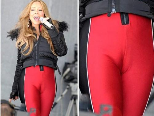Foto: Mariah Carey sorprende con ajustadísima licra