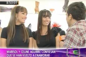 Celine  y Marisol Aguirre dejan entrever que estarían enamoradas