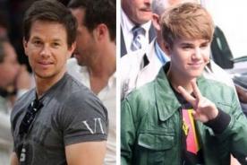 Mark Wahlberg: Justin Bieber sí puede actuar
