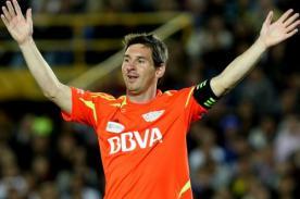 Goles de Los Amigos de Messi vs Resto del Mundo (6-6) - Video
