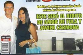 Tula Rodríguez y Javier Carmona ya alistan la casa donde vivirán