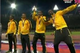 Londres 2012: Usain Bolt gana tercera medalla de oro en 4x100 metros