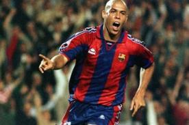 Barcelona: Ronaldo tuvo sexo en el vestuario del Camp Nou