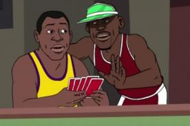 Video: Magic Johnson recuerda su convivencia con Michael Jordan