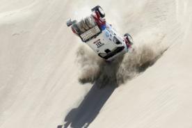 Dakar 2013: Aparatosas caídas en la cuarta etapa Nazca-Arequipa - Video