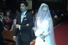 Fotos: Jessica Tapia se casó con su novio norteamericano, Steve Dykeman