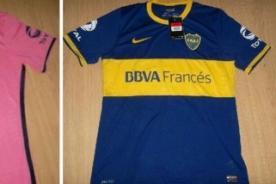 Nueva camiseta de Boca Juniors sería rosa - Fotos