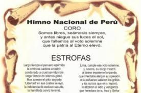Fiestas Patrias Perú: Historia del Himno Nacional