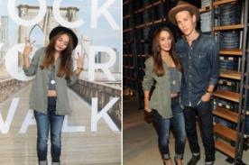Vanessa Hudgens y Austin Butler lucen super fashion con el look demin