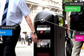 Papeleras de Londres espían los celulares de los transeúntes