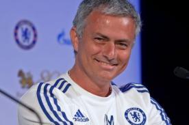 José Mourinho expresó su felicidad por ser entrenador del Chelsea