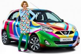 El Nissan Micra Agatha Ruiz de la Prada será una edición limitada de la marca
