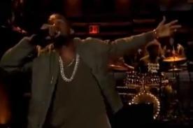Kanye West arremetió contra ex novio de Kim Kardashian - Video